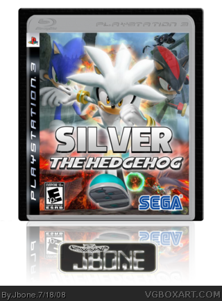 Silver the Hedgehog box cover