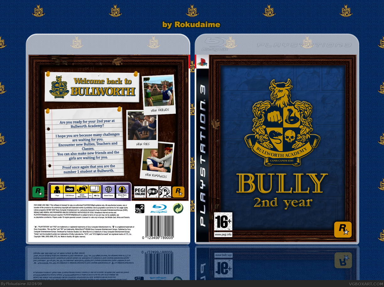 Viewing full size Bully 2 box cover