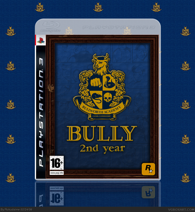Bully 2 PlayStation 3 Box Art Cover by Rokudaime