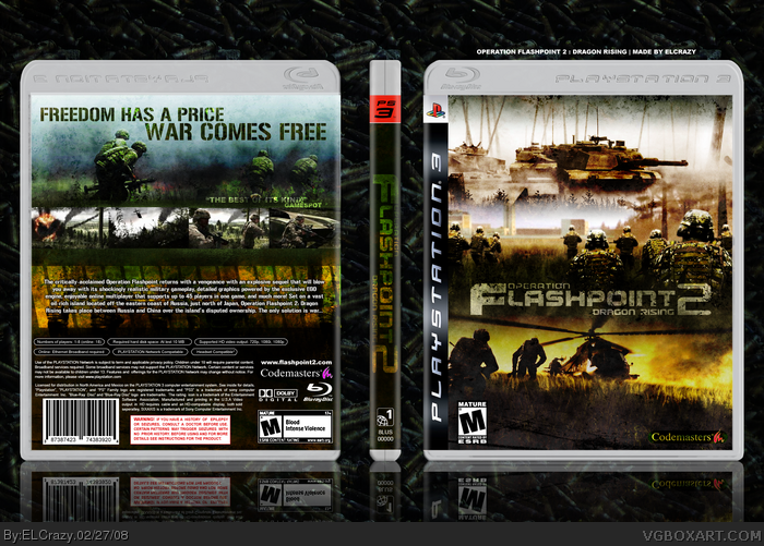 Operation Flashpoint: Dragon Rising - OFP: DR Фан-арт.