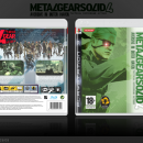 Metal Gear Solid 4: Aversive In Outer Haven Box Art Cover