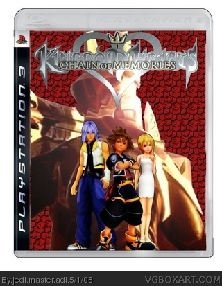 PlayStation 3 » Kingdom Hearts 3 Box Cover
