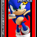 Sonic Heroes Fire Edition Box Art Cover