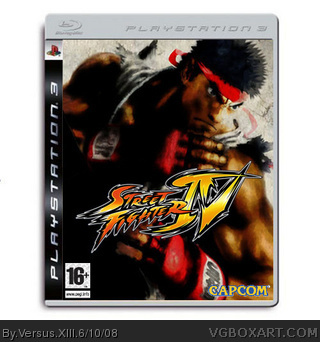 PlayStation 3 » Street Fighter IV Box Cover