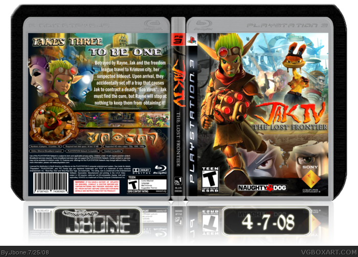 PlayStation 3 » Jak IV: The Lost Frontier Box Cover
