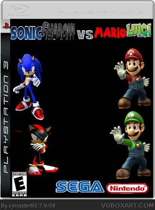 Mario Luigi Sonic Shadow Vs - mastenavigator - 115.4KB