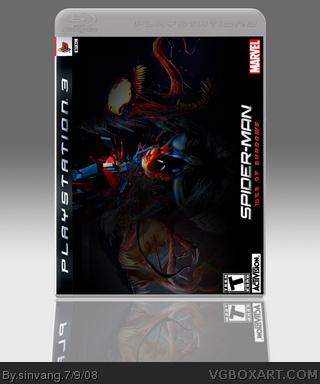 Spider Carnage Web Of Shadows Spider-man web of shadows box