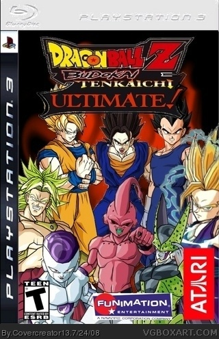 Dragon Ball Z Budokai Tenkaichi Ultimate Playstation 3 Box Art