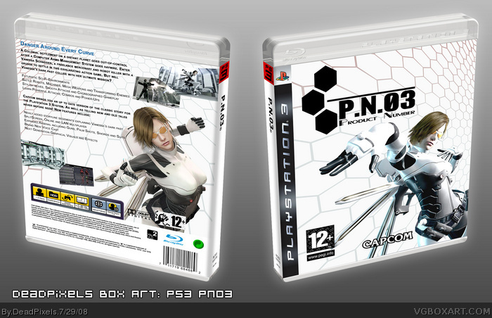 P.N.03 box art cover