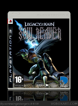 PlayStation 3 » Legacy of Kain - Soul Reaver Box Cover