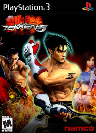 Tekken 5 Attack Playstation 3 Box Art Cover By J3psen