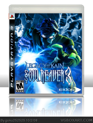 PlayStation 3 » Legacy of Kain - Soul Reaver 3 Box Cover