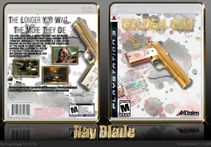 Golden Gun box art cover