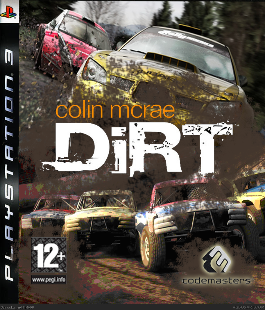 Colin Mcrae: DIRT box cover