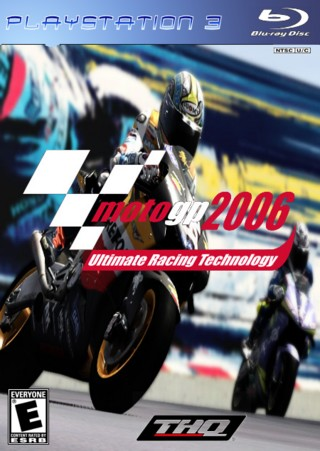 Moto GP 2006 box cover