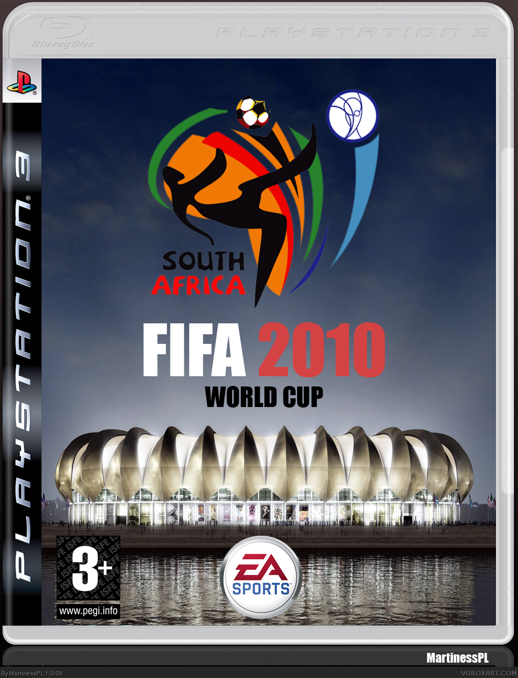 FIFA 2010 WORLD CUP box cover