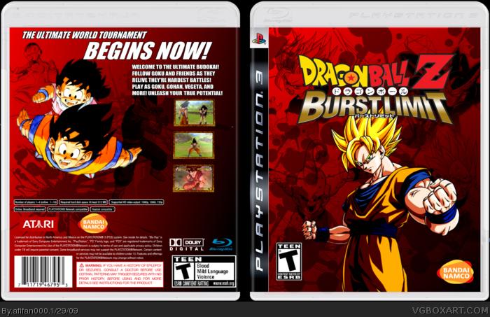 dragon ball z burst limit xbox 360 download
