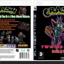 Crash Bandicoot:Twisted Dimension Box Art Cover