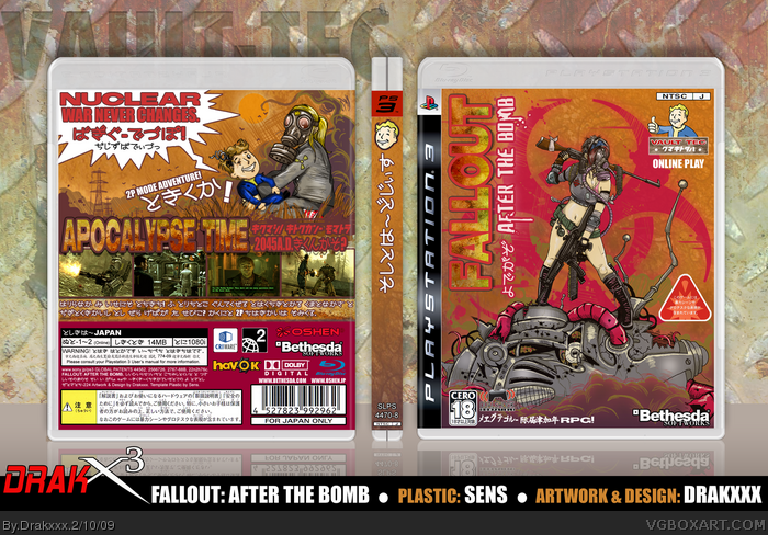 Fallout: After The Bomb box art cover
