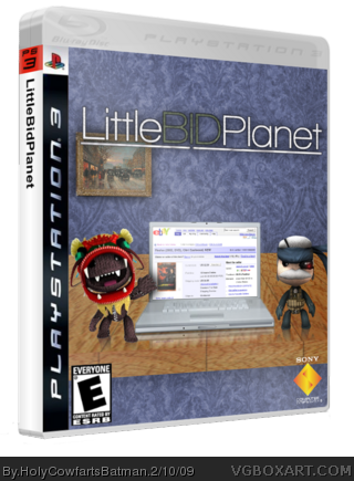 LittleBidPlanet box cover