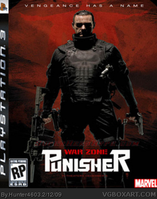 Punisher War Zone box cover