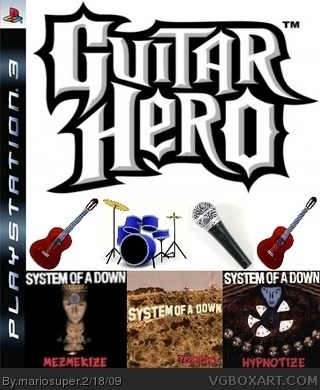 Guitar Hero: System of a Down box cover