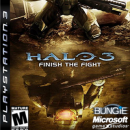 Halo 3 Finish the Fight Box Art Cover
