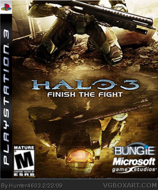 Halo 3 Finish the Fight box cover