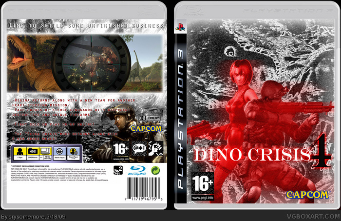 Dino Crisis 4 box art cover