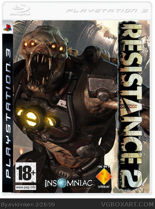 Resistance 2 box cover