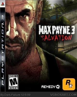 Max Payne 3 Playstation 3 Box Art Cover By Dark Failure