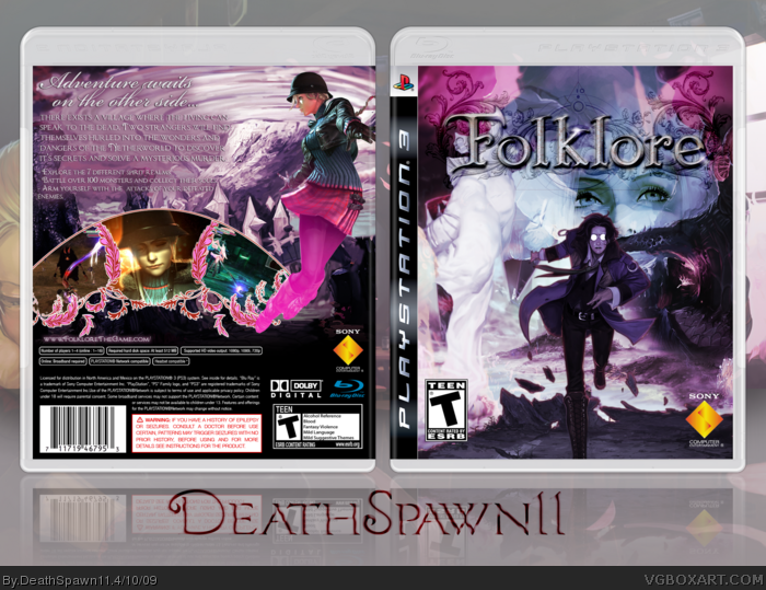 Folklore box art cover
