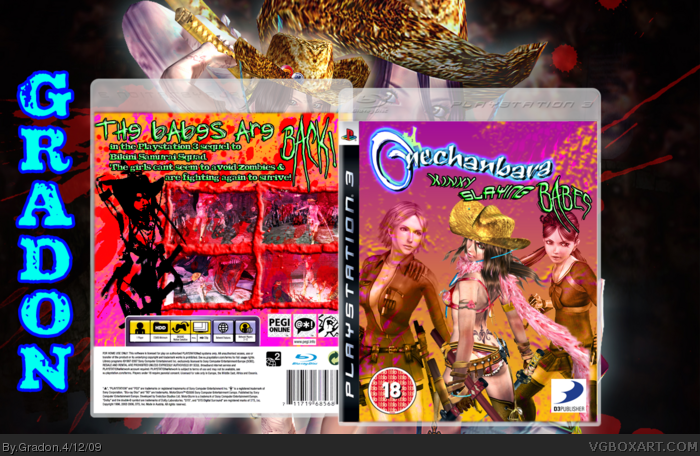 Onechanbara: Kinky Slaying Babes box art cover