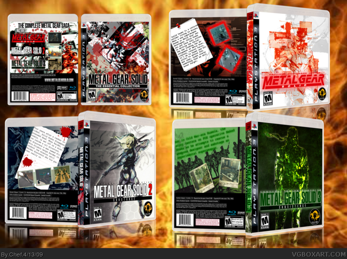 PlayStation 3 » Metal Gear Solid: The Essential Collection Box Cover