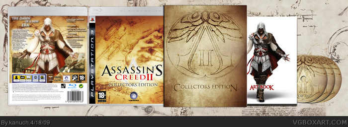 Assassin's Creed 2: Collectors Edition box art cover