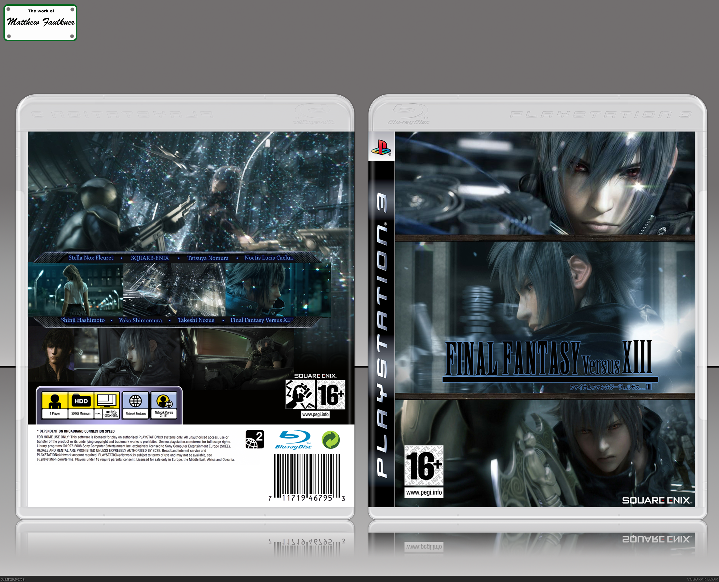 Final Fantasy Versus XIII box cover