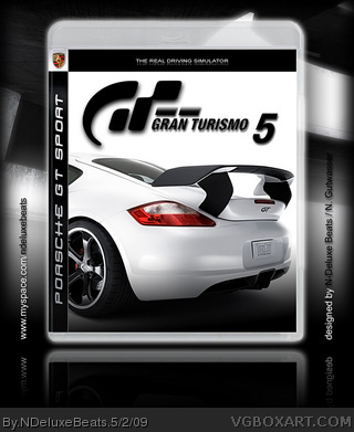 gran turismo 5 playstation 3 box art cover by ndeluxebeats. Black Bedroom Furniture Sets. Home Design Ideas