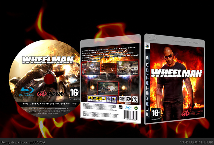 PlayStation 3 » Wheelman Box Cover