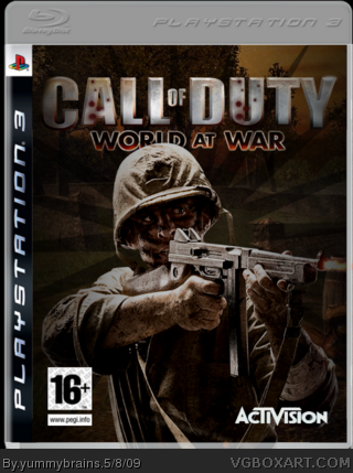 Call of Duty: World at War box cover