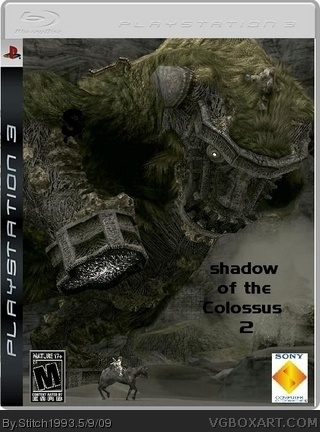 Shadow Of The Colossus 2 Box Cover
