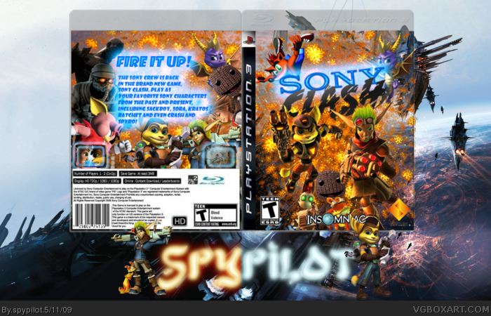 Sony Clash box art cover