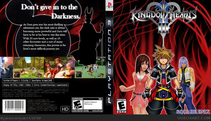 kingdom hearts 3  game