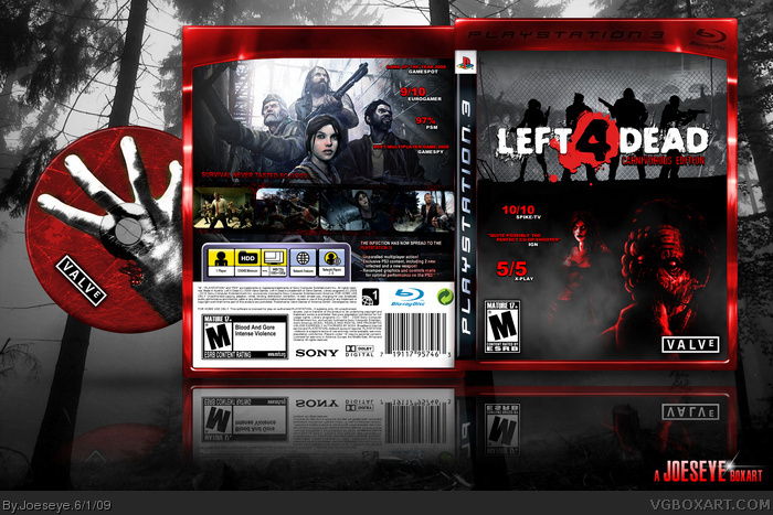 Left 4 Dead: Carnivorous Edition box art cover