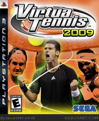 Virtua Tennis 2009 box art cover