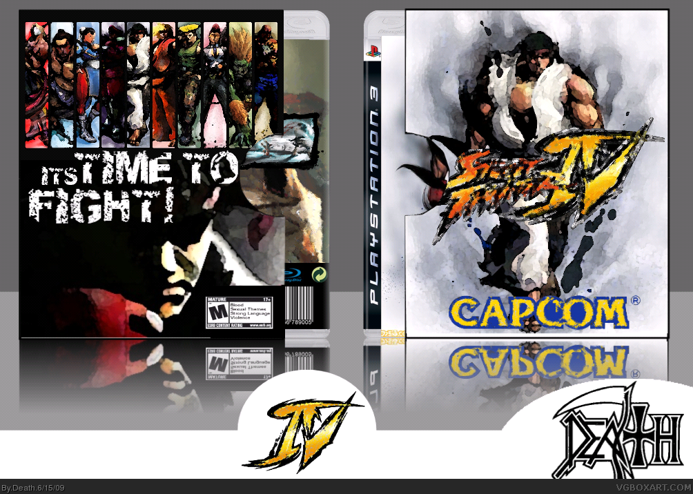 Ultra street fighter 4 cover
