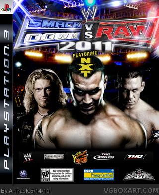 WWE SmackDown! vs Raw 2011 box cover