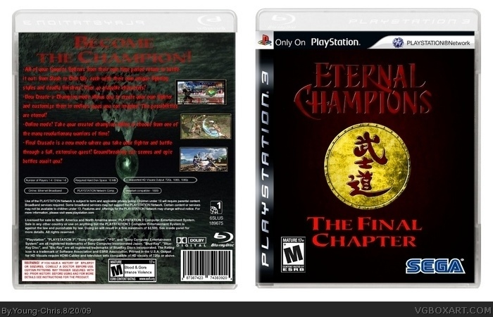 Eternal Champions: The Final Chapter Box Cover Comments