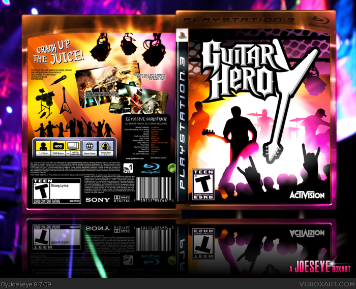 Guitar Hero 5 box art cover
