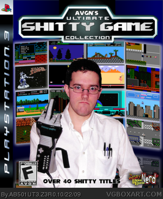 AVGN's Ultimate Shitty Game Collection box cover