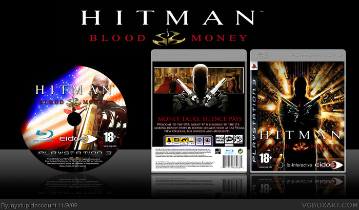 PlayStation 3 » Hitman: Blood Money Box Cover